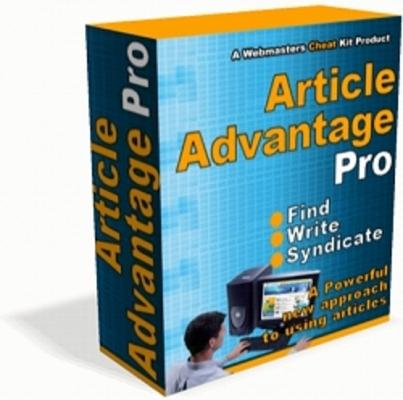 Product picture ARTICLE ADVANTAGE PRO